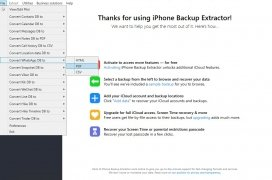 iPhone Backup Extractor immagine 5 Thumbnail