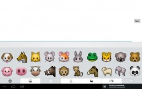 iPhone Keyboard Emoji Keyboard Изображение 5 Thumbnail