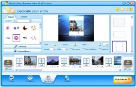 iPixSoft Video Slideshow Maker immagine 3 Thumbnail