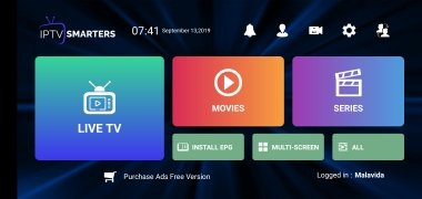 IPTV Smarters Pro imagem 1 Thumbnail