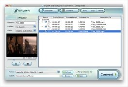 iSkysoft DVD to Apple TV Converter imagem 2 Thumbnail