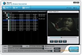 iSkysoft DVD to iPhone Converter imagen 1 Thumbnail