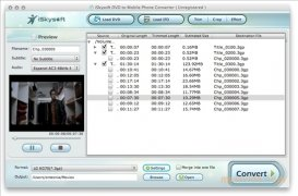 iSkysoft DVD to Mobile Phone Converter imagem 1 Thumbnail