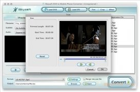 iSkysoft DVD to Mobile Phone Converter imagem 2 Thumbnail