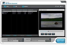 iSkysoft PSP Movie Converter immagine 5 Thumbnail