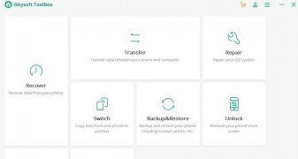 iSkysoft Toolbox - Switch image 6 Thumbnail
