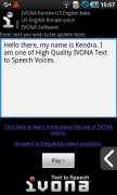 IVONA Text-to-Speech HQ imagem 1 Thumbnail