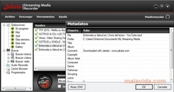 Jaksta Streaming Media Recorder imagen 4 Thumbnail