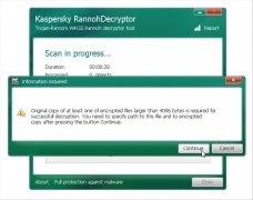 Kaspersky RannohDecryptor bild 3 Thumbnail