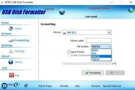 KORO USB Disk Formatter image 3 Thumbnail