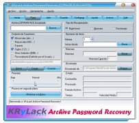 KRyLack Archive Password Recovery imagem 1 Thumbnail