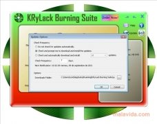 KRyLack Burning Suite image 2 Thumbnail