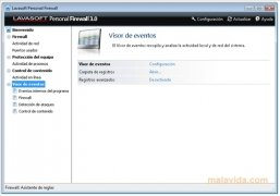 Lavasoft Personal Firewall immagine 3 Thumbnail