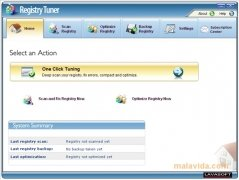 Lavasoft Registry Tuner Изображение 1 Thumbnail