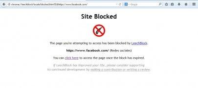 LeechBlock imagen 6 Thumbnail