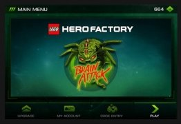 LEGO Hero Factory: Brain Attack imagen 1 Thumbnail