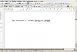 LibreOffice Portable immagine 2 Thumbnail
