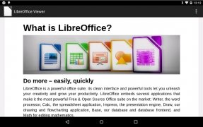 LibreOffice Viewer immagine 3 Thumbnail