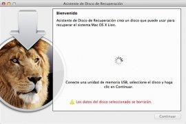 Lion Recovery Disk Assistant imagem 1 Thumbnail
