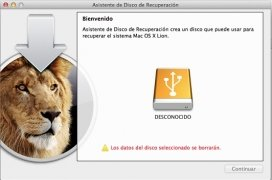 Lion Recovery Disk Assistant imagem 2 Thumbnail