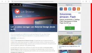 Liri Browser imagen 3 Thumbnail