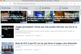 Liri Browser immagine 1 Thumbnail