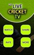 Live Cricket TV HD image 1 Thumbnail
