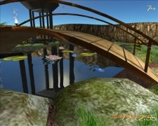 Lovely Pond 3D Screensaver imagen 3 Thumbnail