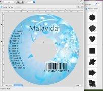 Mac CD/DVD Label Maker imagen 1 Thumbnail