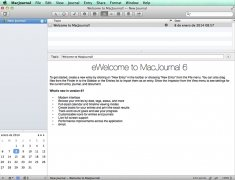 MacJournal imagen 1 Thumbnail