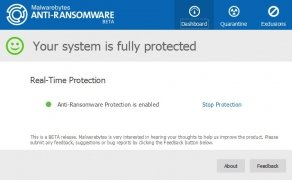 Malwarebytes Anti-Ransomware imagem 1 Thumbnail