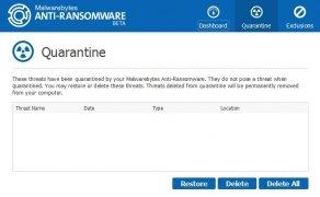 Malwarebytes Anti-Ransomware immagine 2 Thumbnail