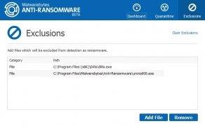 Malwarebytes Anti-Ransomware immagine 3 Thumbnail