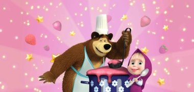 Masha and Bear: Cooking Dash imagen 2 Thumbnail