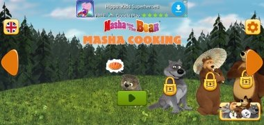 Masha and Bear: Cooking Dash imagen 3 Thumbnail