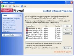 McAfee Firewall immagine 2 Thumbnail