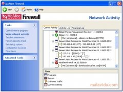 McAfee Firewall immagine 3 Thumbnail