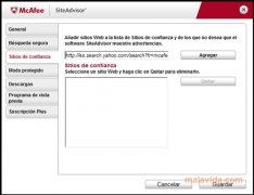 McAfee Site Advisor Firefox image 3 Thumbnail
