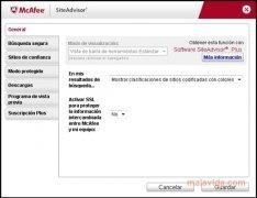 McAfee Site Advisor Internet Explorer imagen 1 Thumbnail