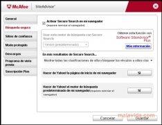 McAfee Site Advisor Internet Explorer imagen 2 Thumbnail