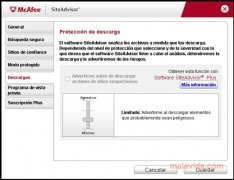 McAfee Site Advisor Internet Explorer imagen 3 Thumbnail