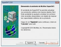McAfee VirusScan DAT image 2 Thumbnail