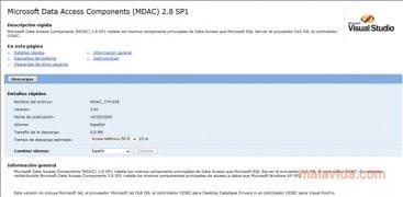 MDAC 2.8 SP1 imagen 1 Thumbnail