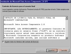 MDAC 2.8 SP1 imagen 2 Thumbnail