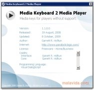 Media Keyboard 2 Media Player imagem 2 Thumbnail