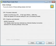 Media Player Codec Pack image 2 Thumbnail