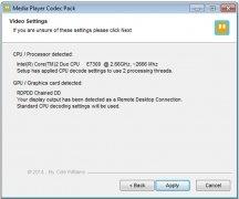 Media Player Codec Pack imagem 2 Thumbnail