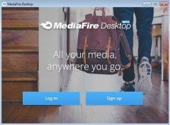 MediaFire Desktop image 1 Thumbnail