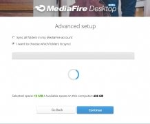 MediaFire Desktop immagine 2 Thumbnail