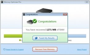 Memory Optimizer bild 3 Thumbnail
